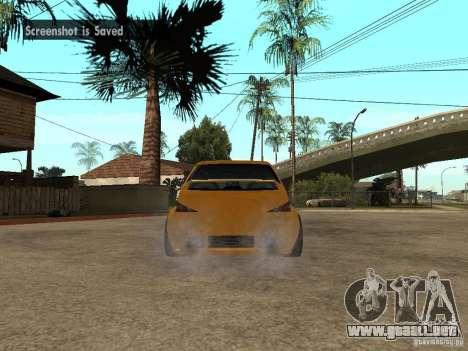 Peugeot 106 Tuning para GTA San Andreas left