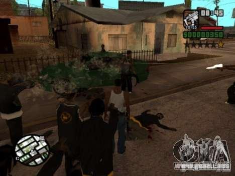 Call of Homies para GTA San Andreas tercera pantalla