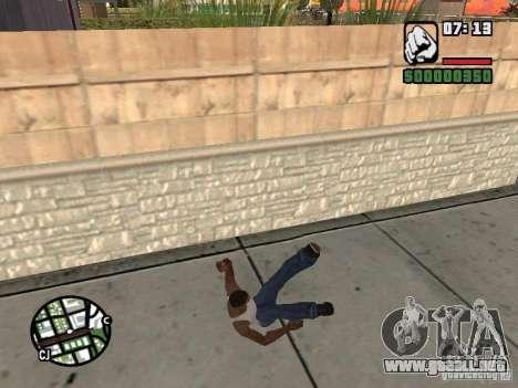 PARKoUR para GTA San Andreas décimo de pantalla