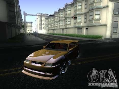 Ford Mustang SVT Cobra para GTA San Andreas left