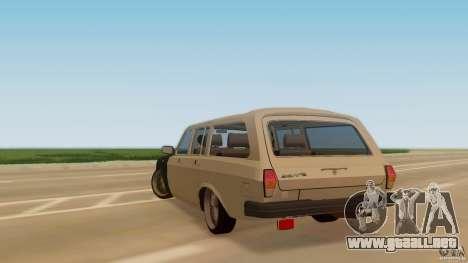 GAZ-310221 601 para GTA San Andreas left