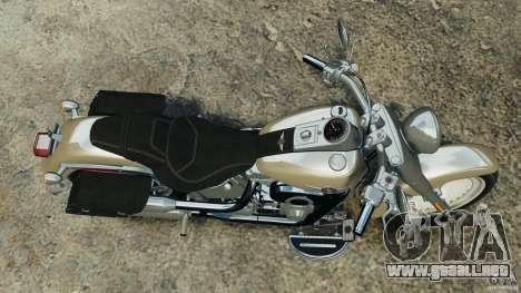 Harley Davidson Softail Fat Boy 2013 v1.0 para GTA 4 visión correcta