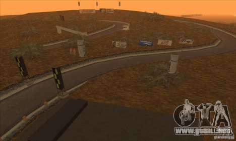 La ruta de NFS Prostreet para GTA San Andreas