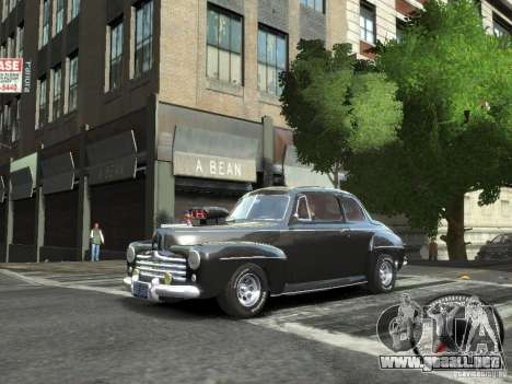 Ford Super Deluxe 1948 para GTA 4 left