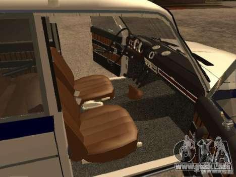 Policía VAZ 2103 para la visión correcta GTA San Andreas