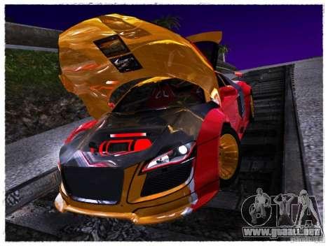 Audi R8 Calibri-Ace para la visión correcta GTA San Andreas