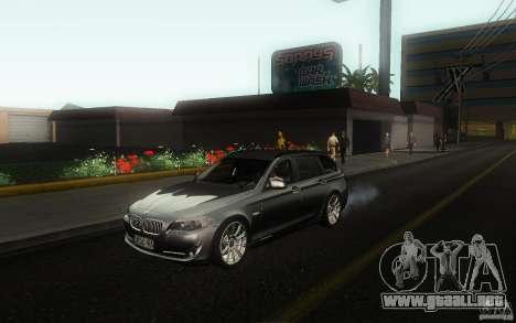 BMW F11 530d Touring para GTA San Andreas