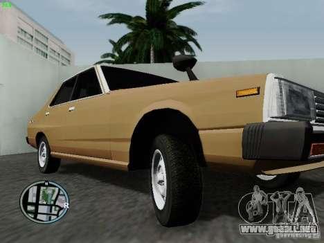 Nissan Skyline 2000GT C210 para visión interna GTA San Andreas