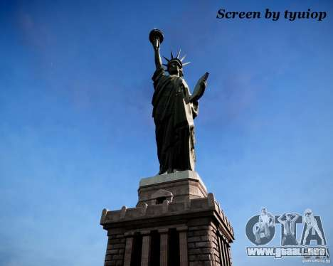 New Statue of Liberty para GTA 4