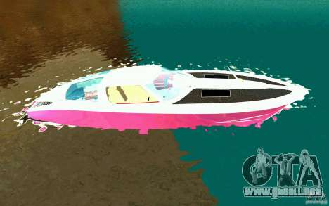 Mamba Speedboat para GTA San Andreas left