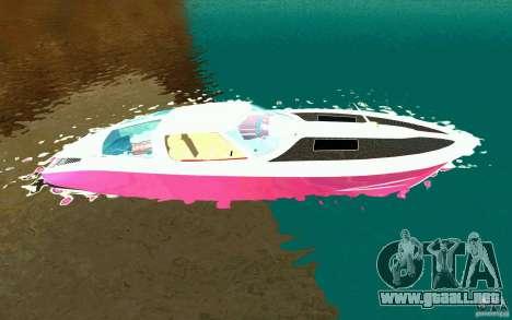 Mamba Speedboat para GTA San Andreas left