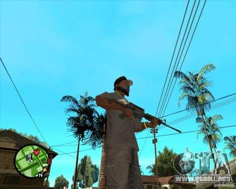 M4 Carbine para GTA San Andreas segunda pantalla