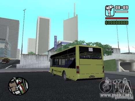 LAZ A099 (SitiLAZ 8) para GTA San Andreas left