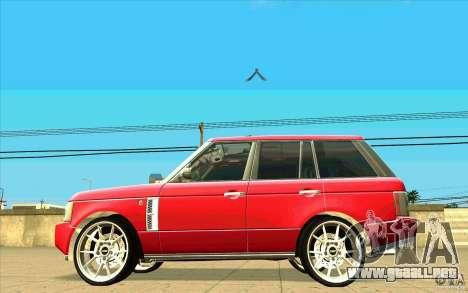 NFS:MW Wheel Pack para GTA San Andreas twelth pantalla
