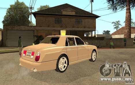 Bentley Arnage para la visión correcta GTA San Andreas