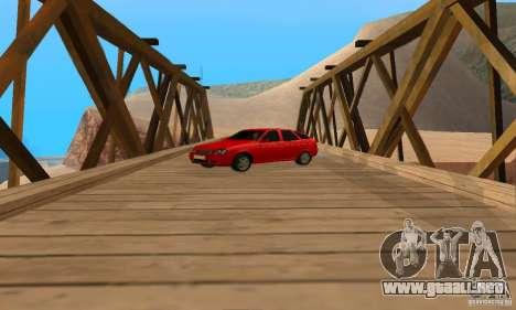 Camioneta LADA priora para la visión correcta GTA San Andreas
