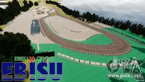 Ebisu Circuit para GTA 4