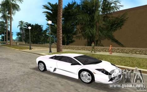 Lamborghini Murcielago V12 6,2L para GTA Vice City left