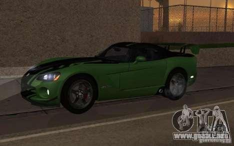 Dodge Viper un poco tuning para GTA San Andreas
