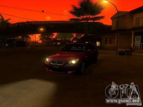 ENBSeries by Fallen para GTA San Andreas segunda pantalla