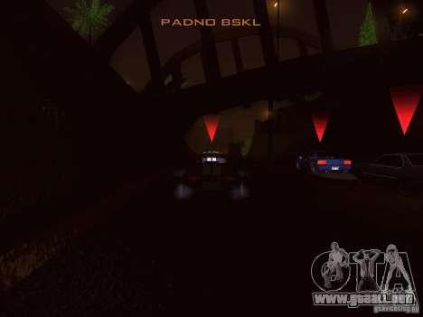 NFS GTA RACE V4.0 para GTA San Andreas tercera pantalla