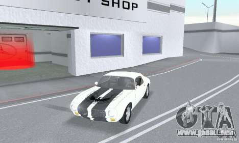 Pontiac Trans Am 1967-1969 para GTA San Andreas vista posterior izquierda