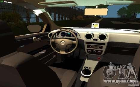 Volkswagen Saveiro para la visión correcta GTA San Andreas
