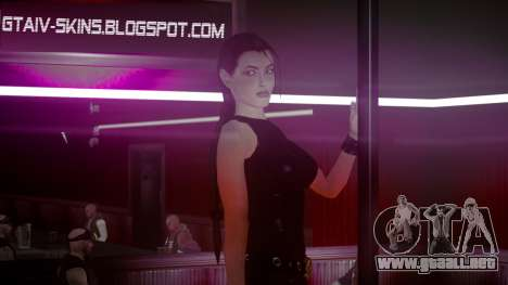 Angelina Jolie (Tomb Raider) para GTA 4 tercera pantalla