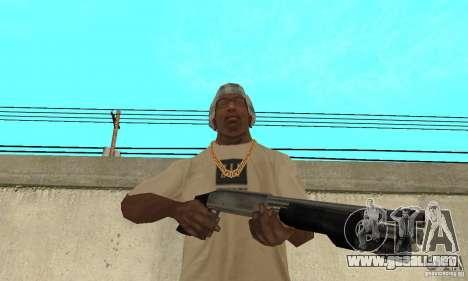 Fuerzas especiales de Estados Unidos de escopeta para GTA San Andreas tercera pantalla