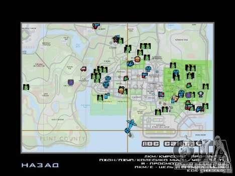 Camino de invierno para GTA San Andreas décimo de pantalla