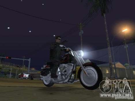 Terminator para GTA San Andreas quinta pantalla