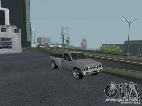Nissan Pick-up D21 para la vista superior GTA San Andreas