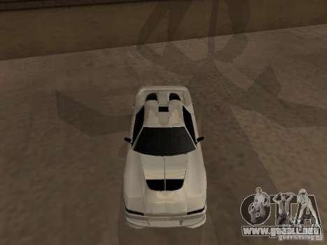 Infernus GT para GTA San Andreas left
