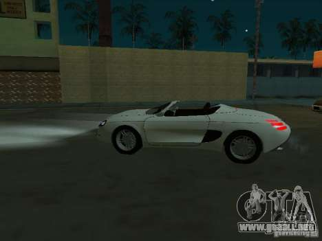Ford Mustang 1993 para GTA San Andreas left