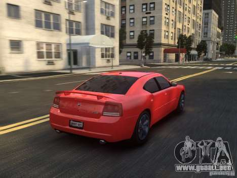 Dodge Charger SRT8 2006 para GTA 4 vista superior
