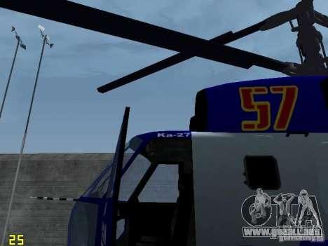 Ka-27 para la visión correcta GTA San Andreas
