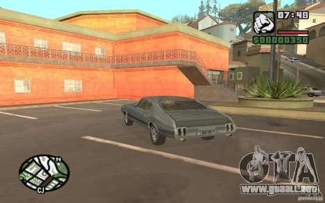 Oldsmobile 442 para GTA San Andreas left