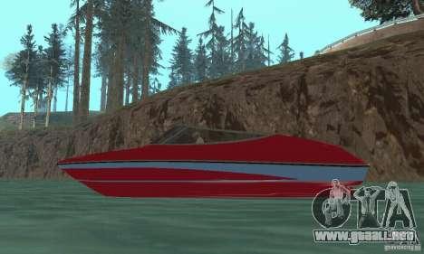 Speedboat para la visión correcta GTA San Andreas