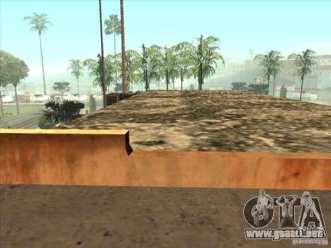 Mapa de Parkour y bmx para GTA San Andreas octavo de pantalla