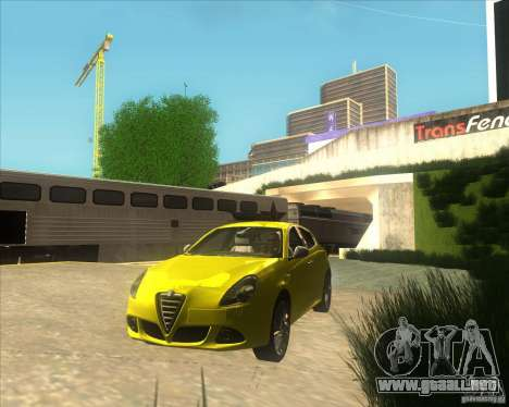 Alfa Romeo Giulietta QV 2011 para GTA San Andreas