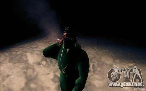 Cigarrillo realista para GTA San Andreas tercera pantalla