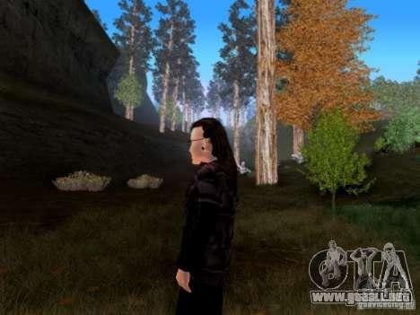 Skrillex para GTA San Andreas tercera pantalla
