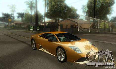 Awesome HD Graphic ENB Setts para GTA San Andreas quinta pantalla