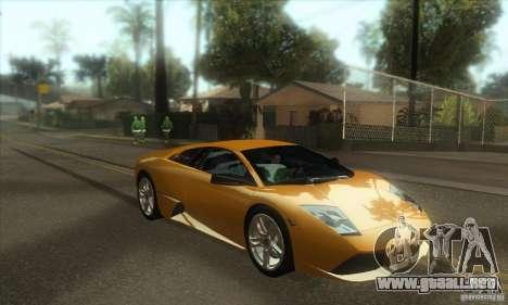 Awesome HD Graphic ENB Setts para GTA San Andreas quinta pantalla