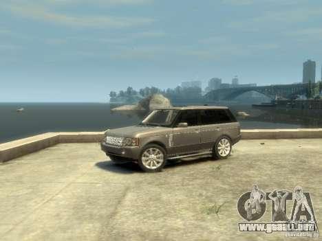 Range Rover Supercharged 2008 para GTA 4 left