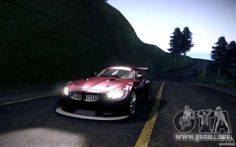 BMW Z4 E89 GT3 2010 para GTA San Andreas left