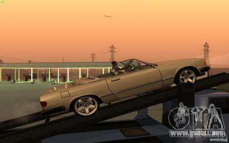 New Feltzer para GTA San Andreas left