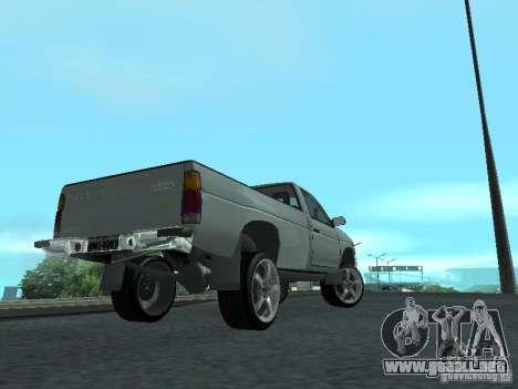Nissan Pick-up D21 para visión interna GTA San Andreas