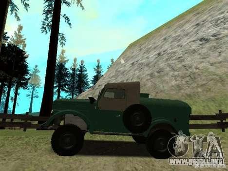GAZ 69 APA 12 para GTA San Andreas left