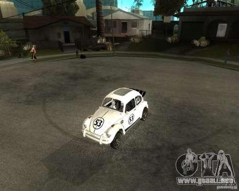 Volkswagen Beetle Herby para GTA San Andreas